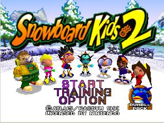 Snowboard Kids 2